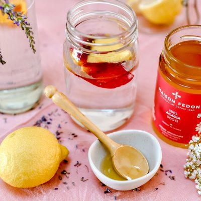 Shortbread au miel